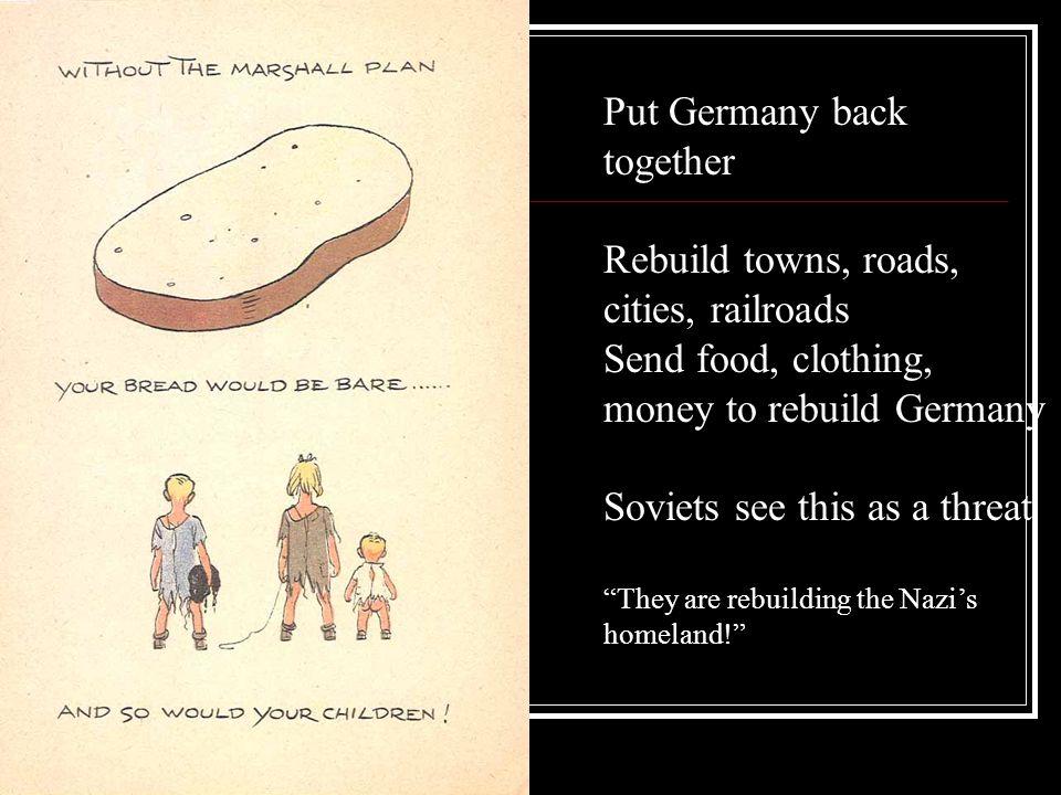 Put Germany back together