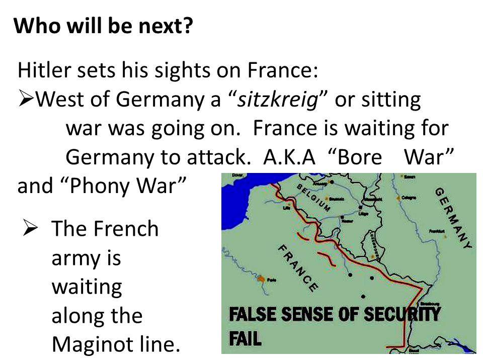 Who will be next Hitler sets his sights on France: