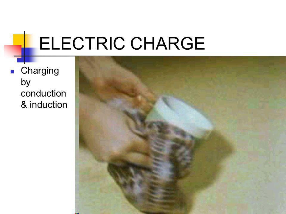 ELECTRIC CHARGE Charging by conduction & induction