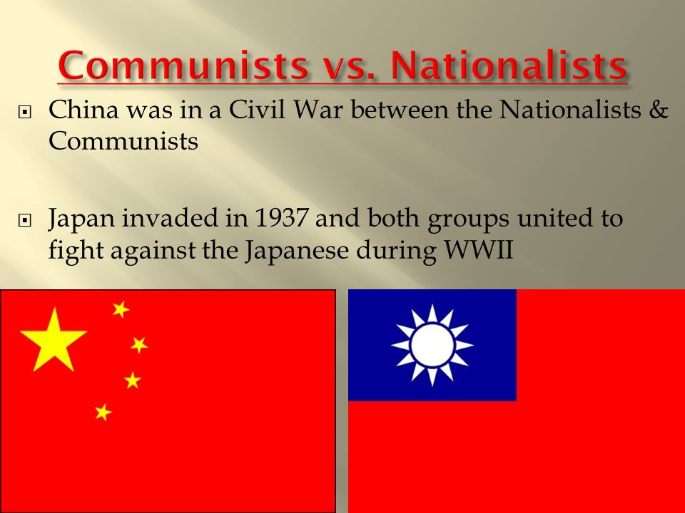 communists win chinese civil war What if the kuomintang had won the chinese civil war the communists militarily what if chiang of the cold war for one thing, communist china might.