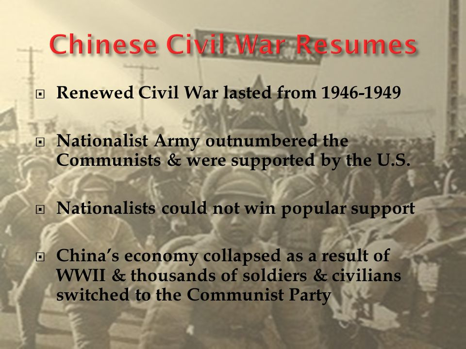 when did the civil war in china resume 28 images when did the