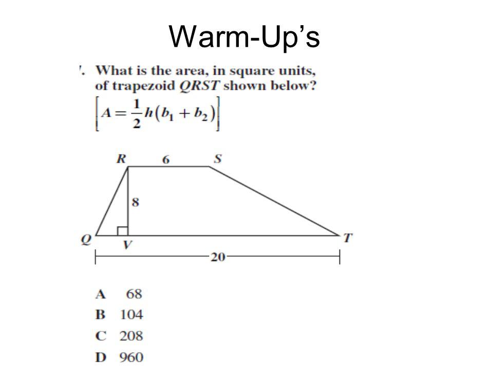 Warm-Up's