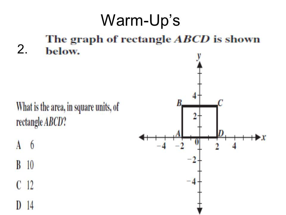 Warm-Up's 2.