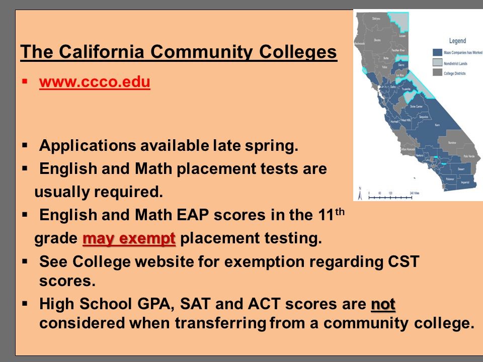 The California Community Colleges