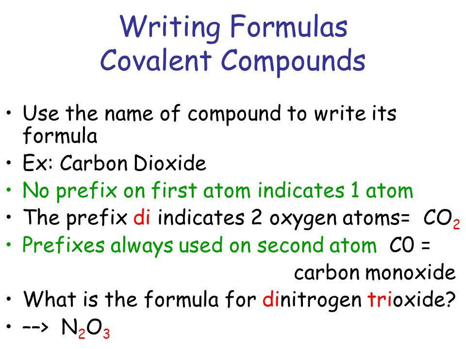 writing ionic compounds Start studying chemistry - practice naming/writing formulas of compounds learn vocabulary, terms, and more with flashcards, games, and other study tools.