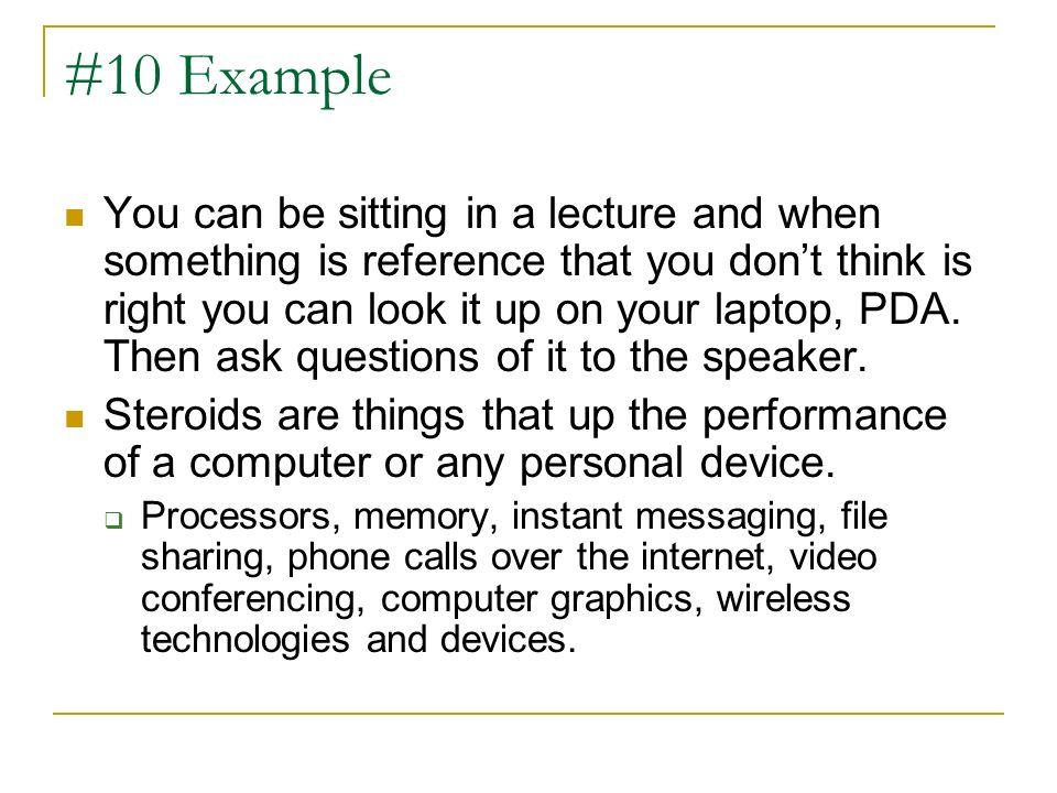 #10 Example