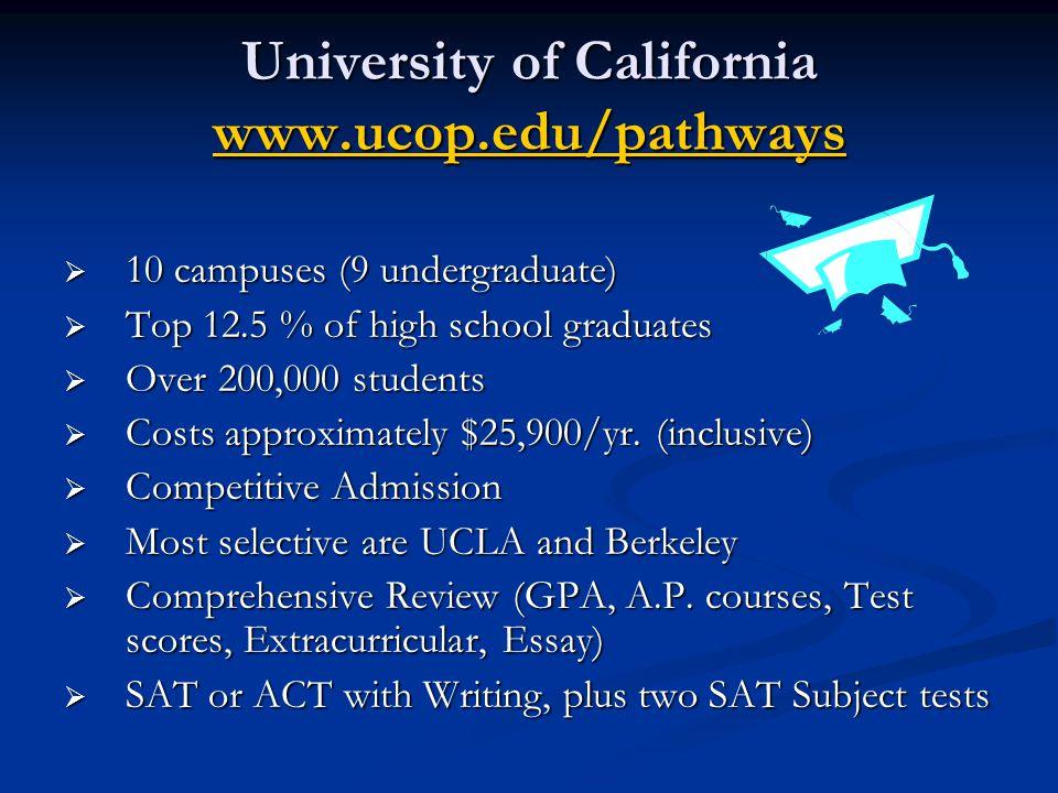 University of California www.ucop.edu/pathways