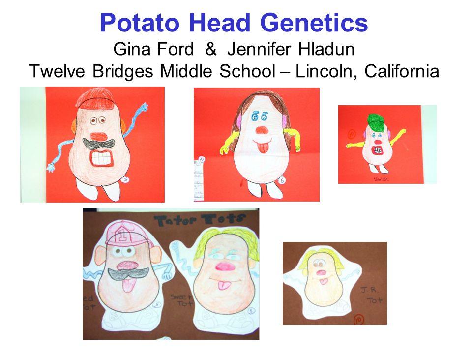 Potato Head Genetics Gina Ford & Jennifer Hladun Twelve Bridges Middle School – Lincoln, California