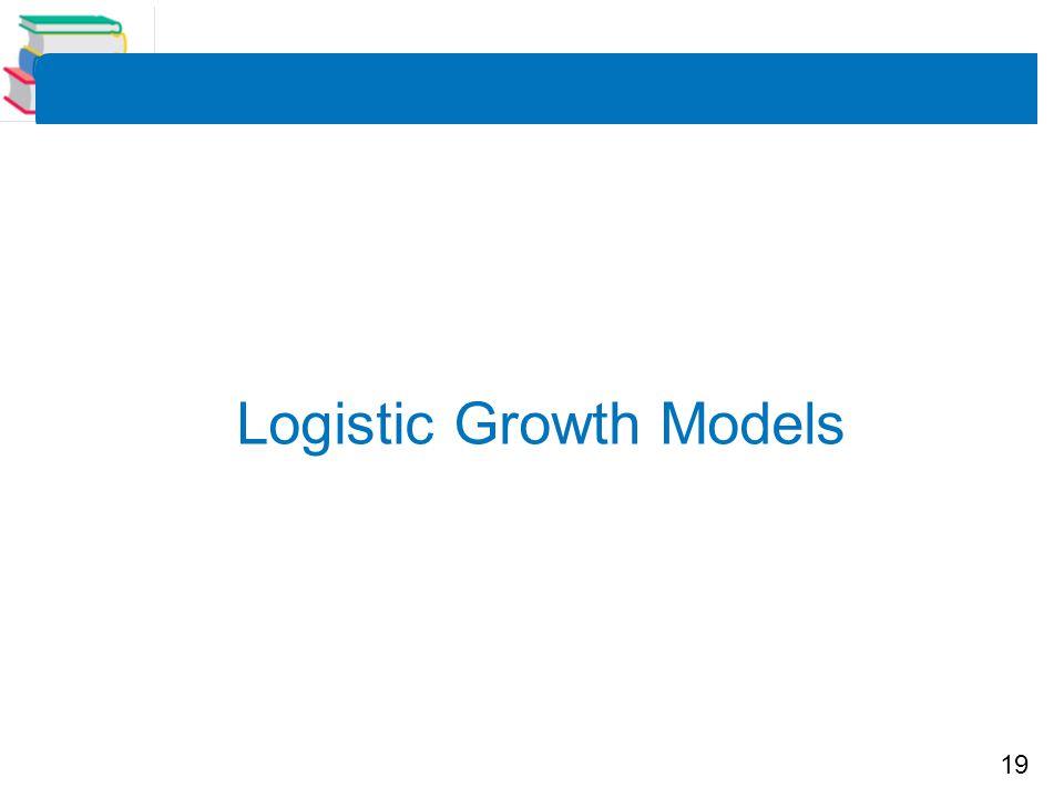 Logistic Growth Models