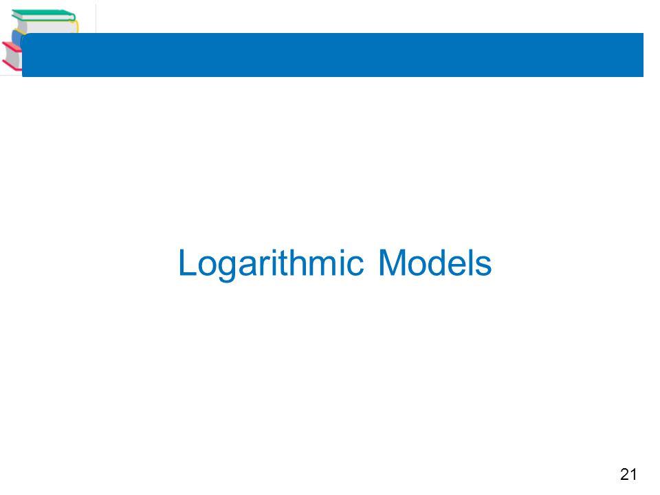 Logarithmic Models