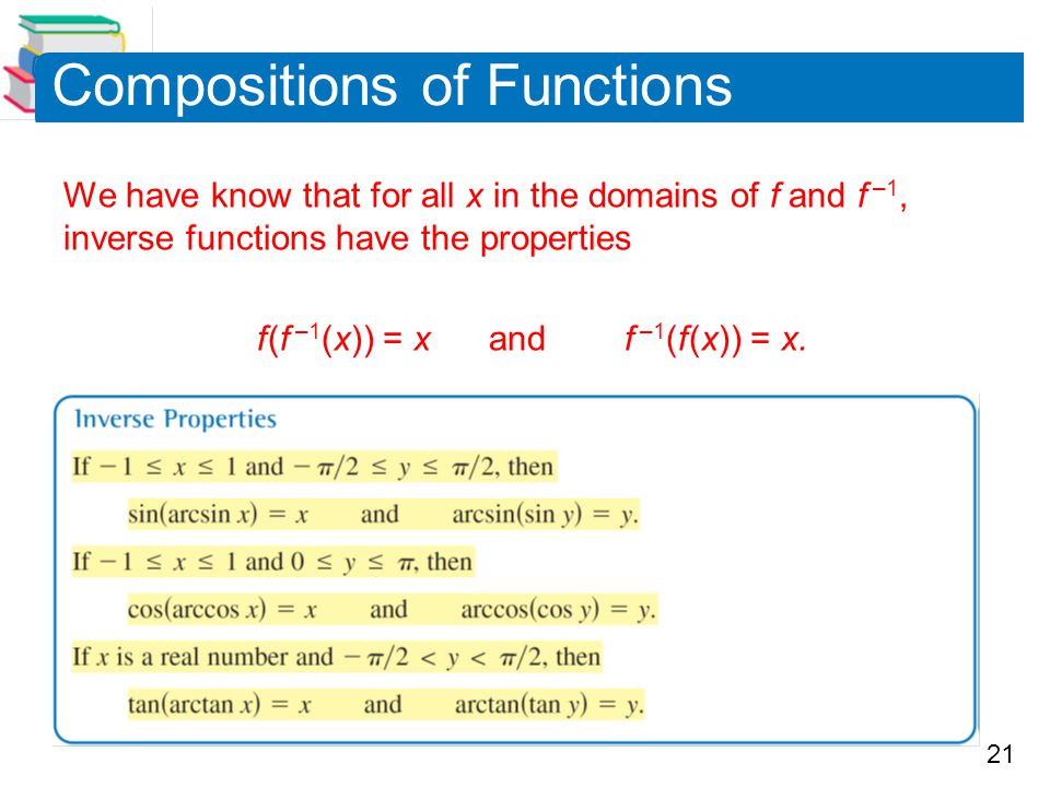 Compositions of Functions