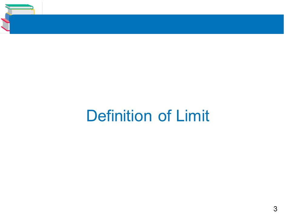 Definition of Limit