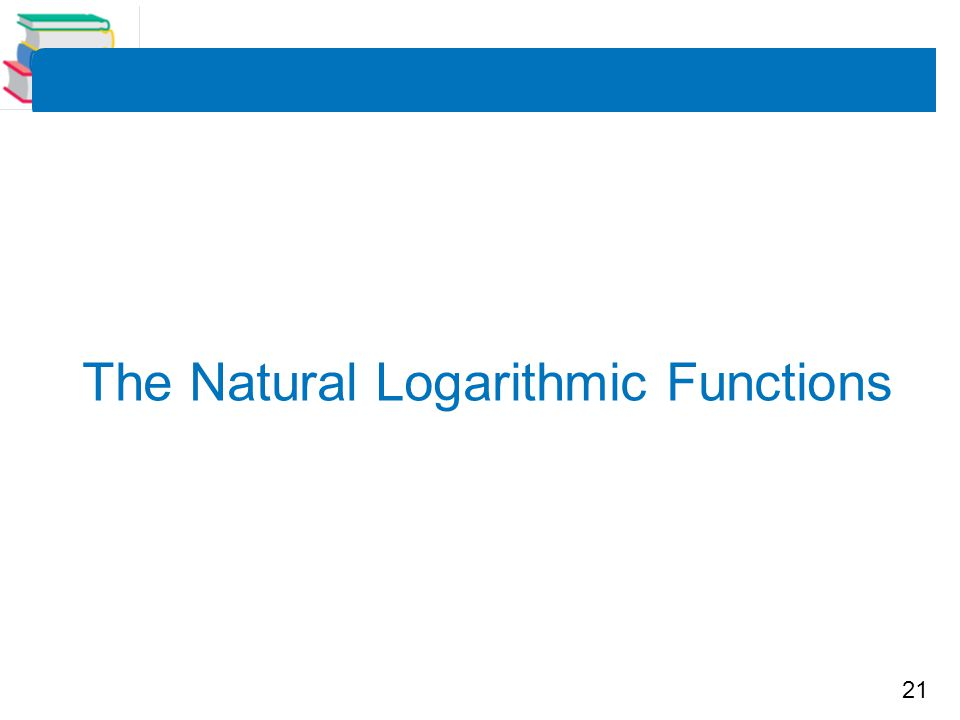 The Natural Logarithmic Functions