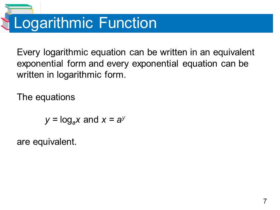 Logarithmic Function
