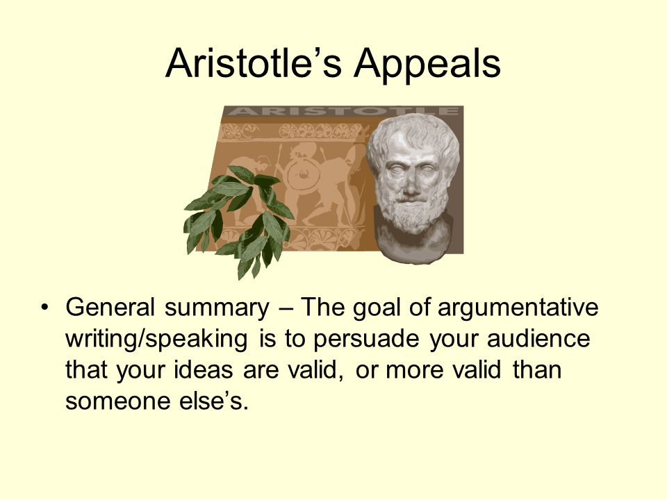 Aristotle's Appeals