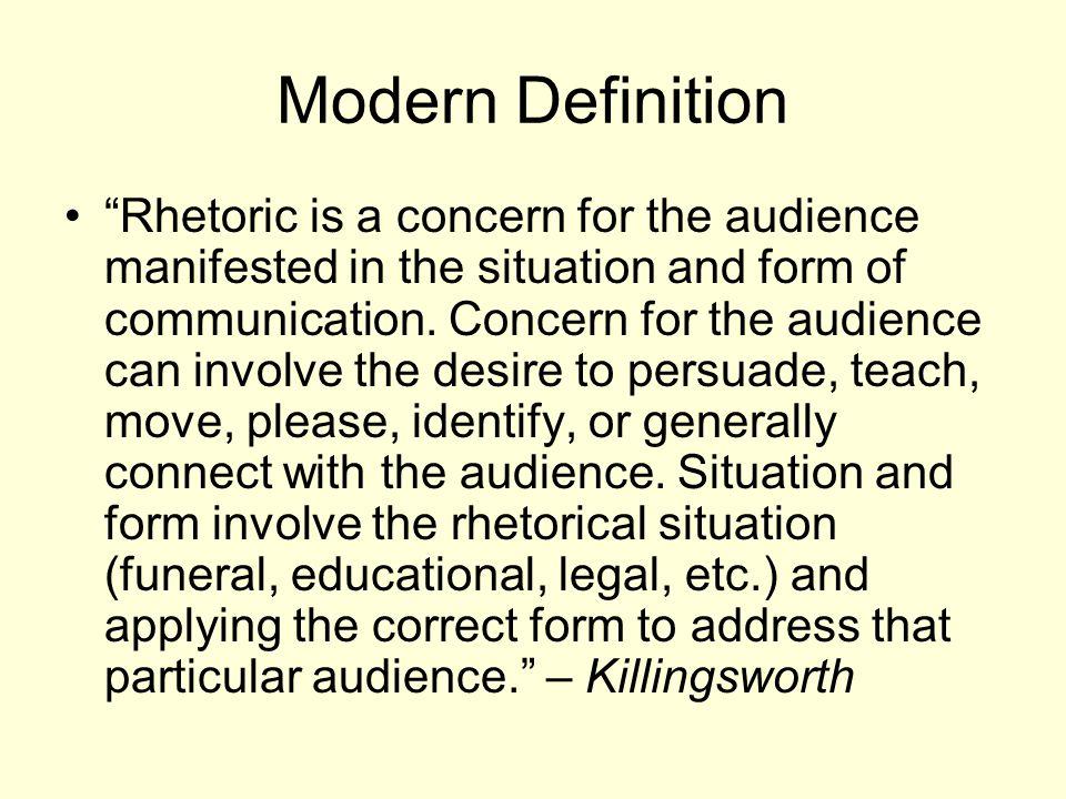 Modern Definition