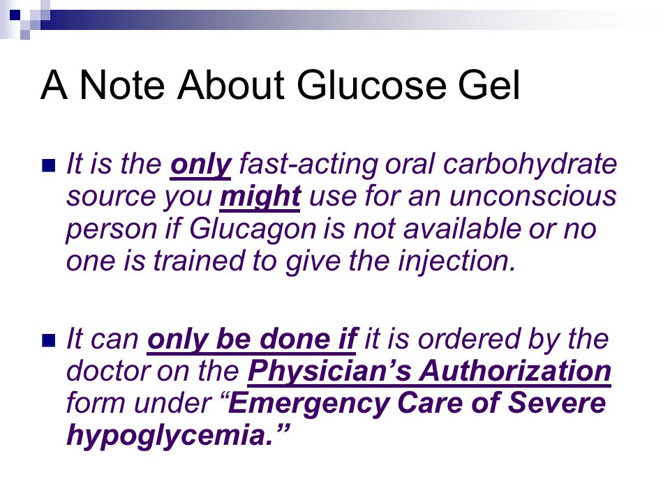 Hypoglycemia: Possible Signs and Symptoms