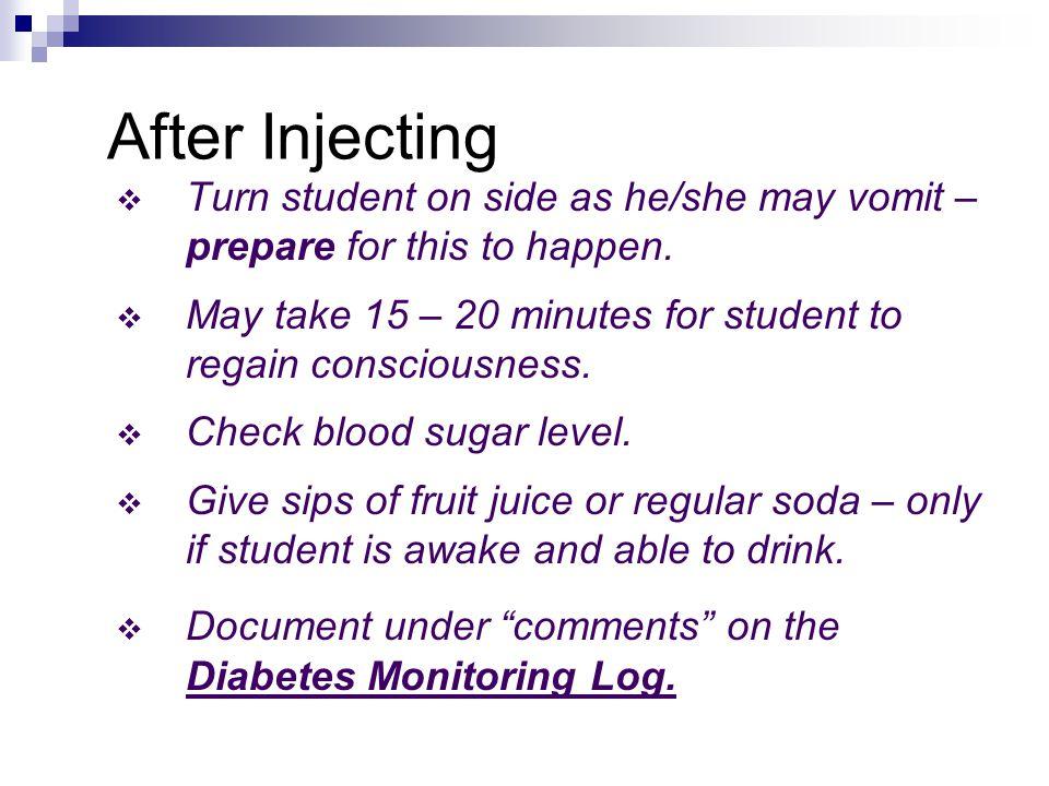 Procedure: Act Immediately