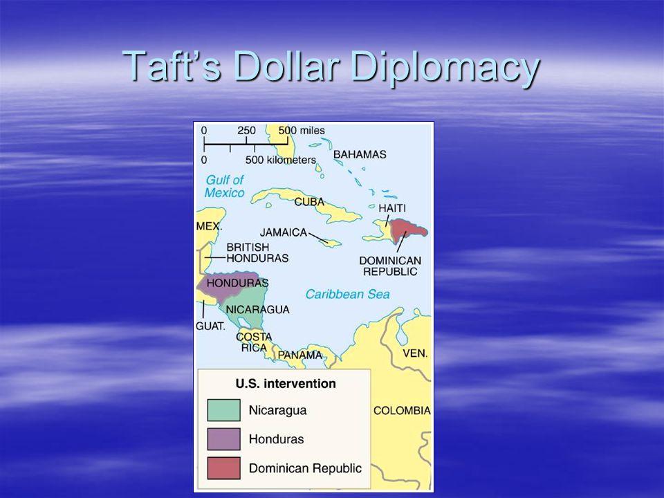 Taft's Dollar Diplomacy