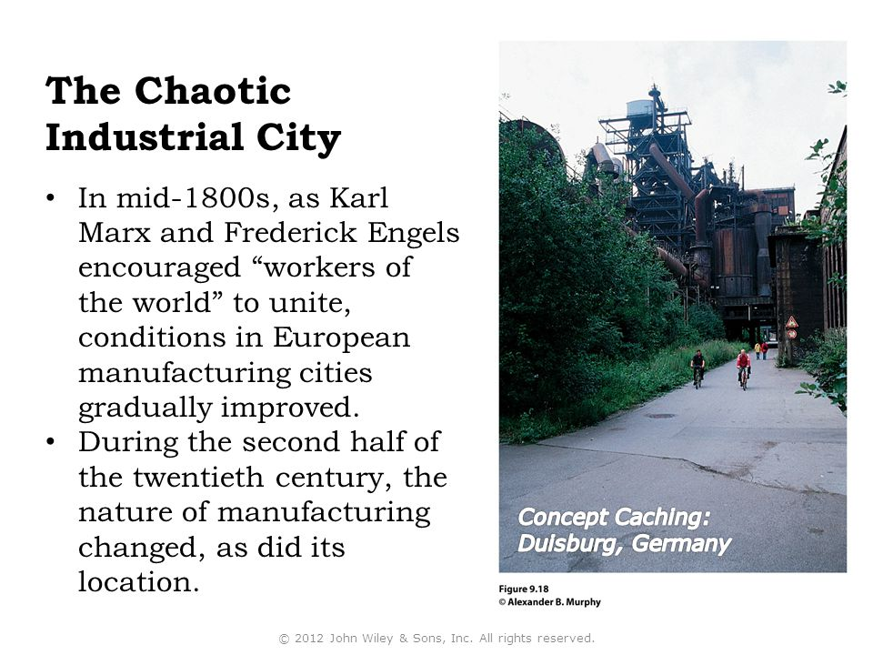 The Chaotic Industrial City