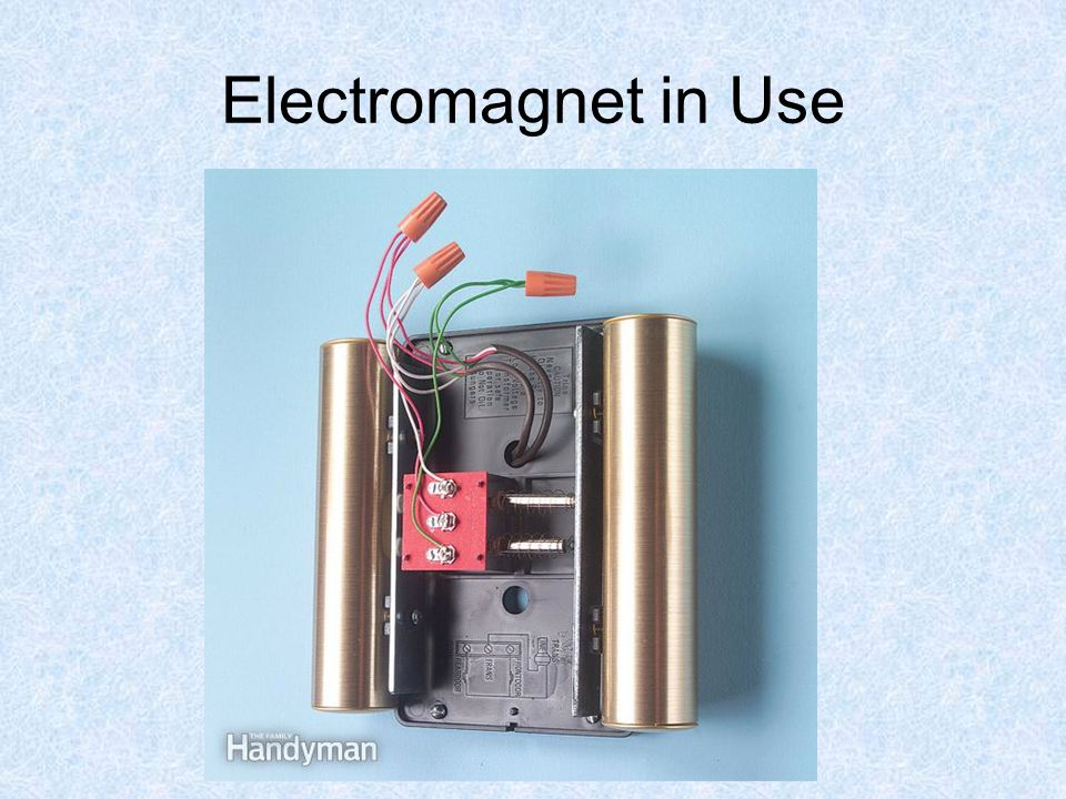 Electromagnet in Use