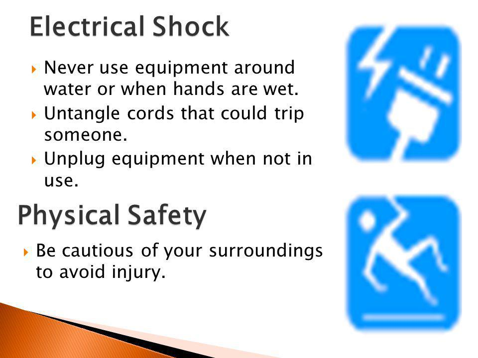 Electrical Shock Physical Safety