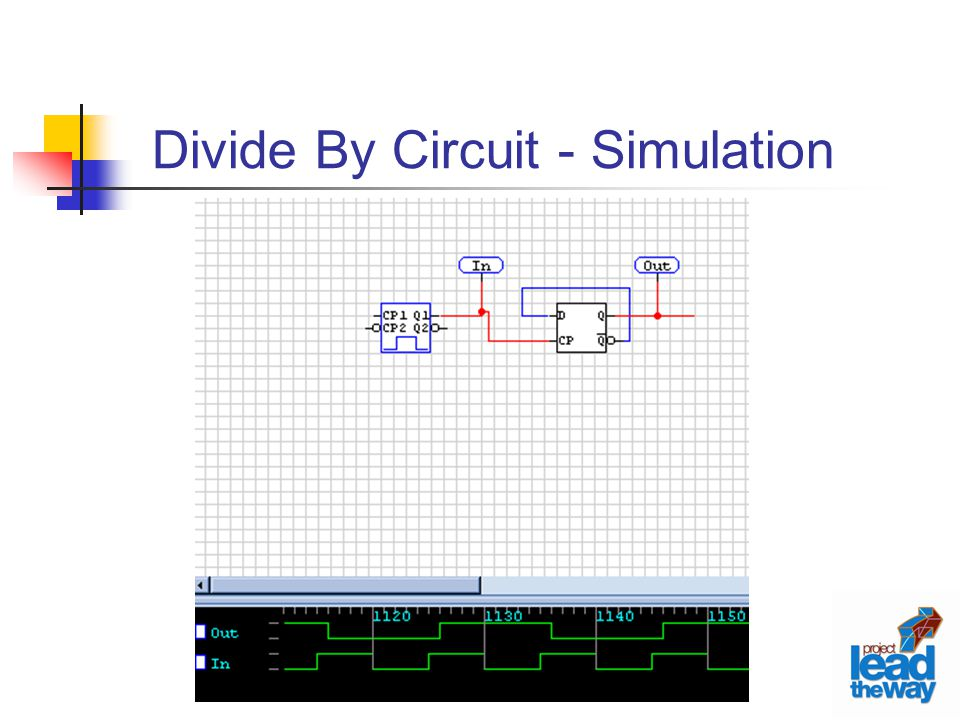 Divide By Circuit - Simulation