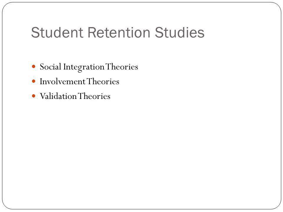 Student Retention Studies