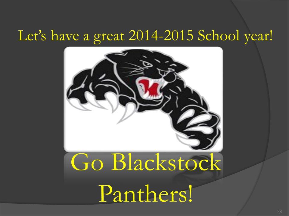Go Blackstock Panthers!