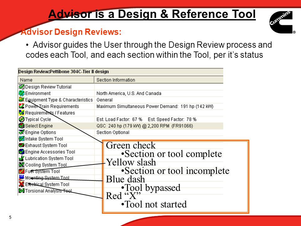 Advisor is a Design & Reference Tool