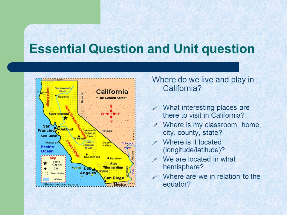 Essential Question and Unit question