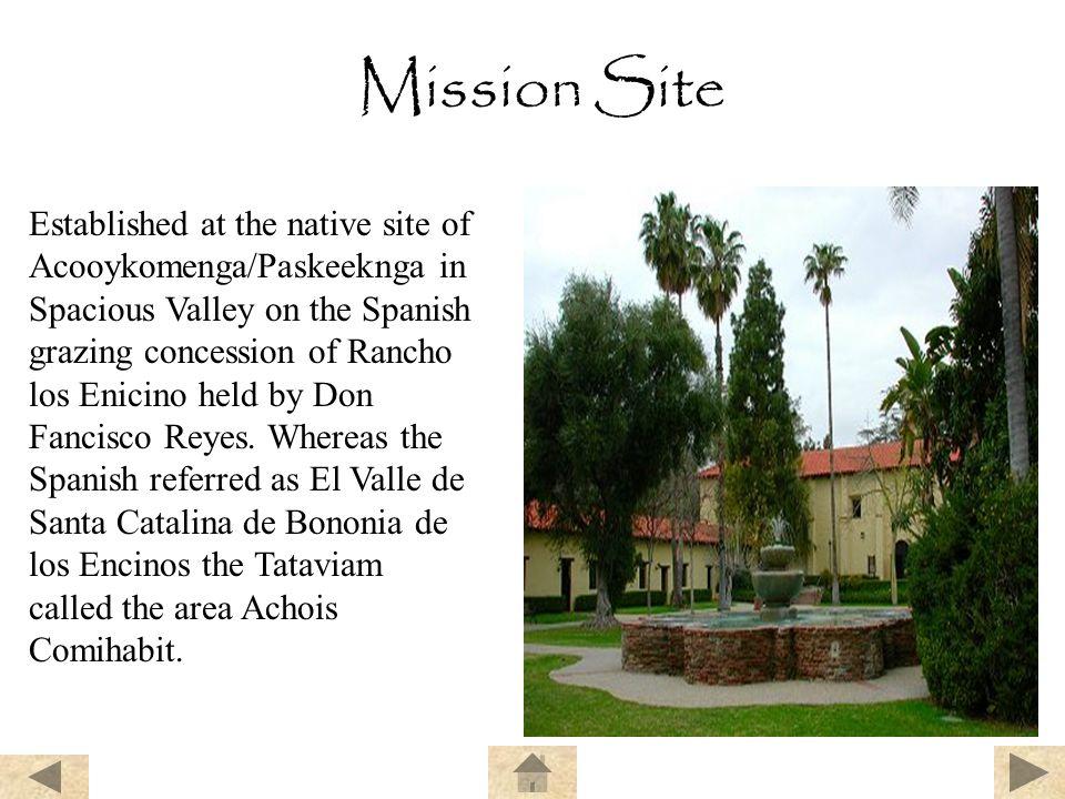 Mission Site