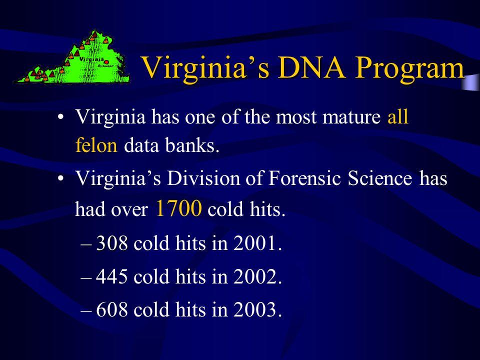 Virginia's DNA Program