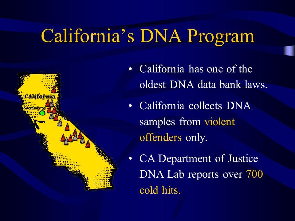 California's DNA Program