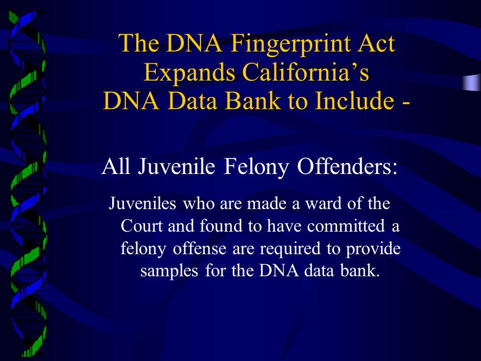All Juvenile Felony Offenders: