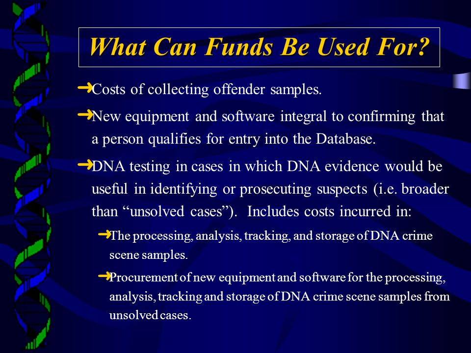 What Can Funds Be Used For