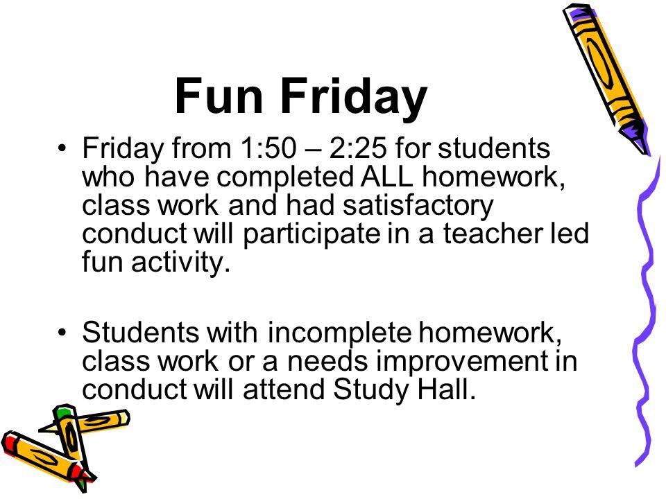 Fun Friday