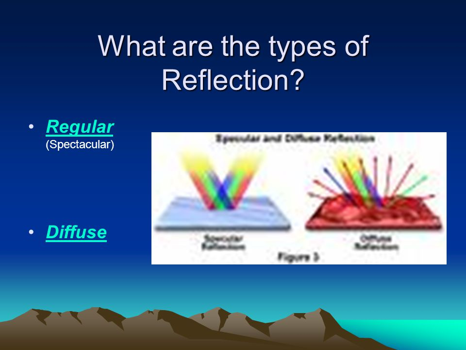 What are the types of Reflection