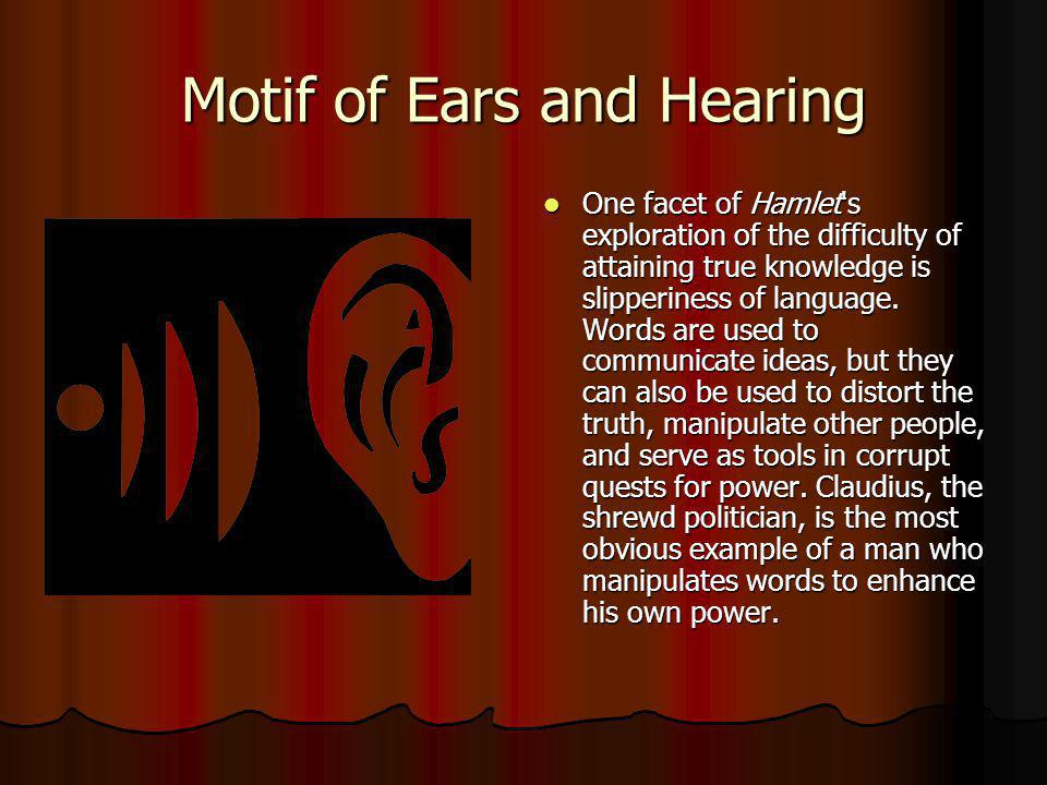 Motif of Ears and Hearing