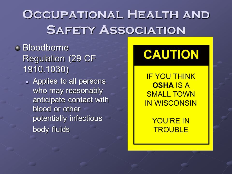 Occupational Health and Safety Association