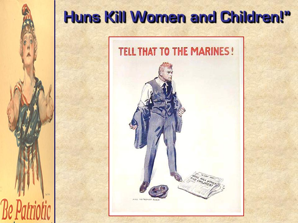 Huns Kill Women and Children!