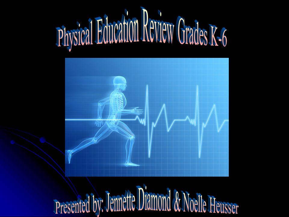 Physical Education Review Grades K-6