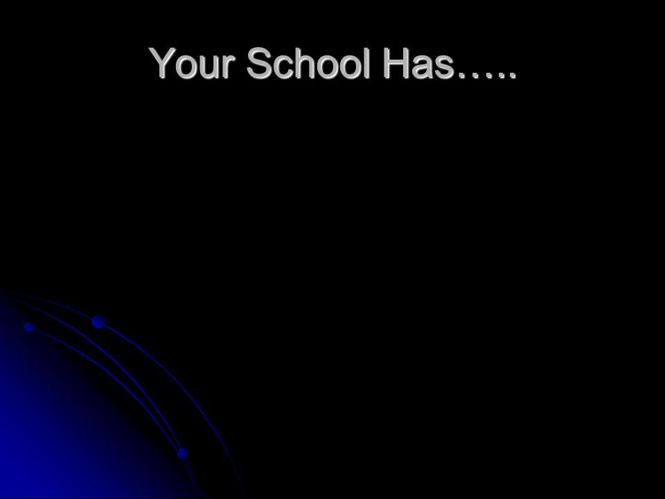 Your School Has…..