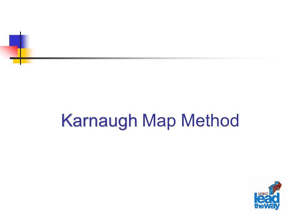 Karnaugh Map Method
