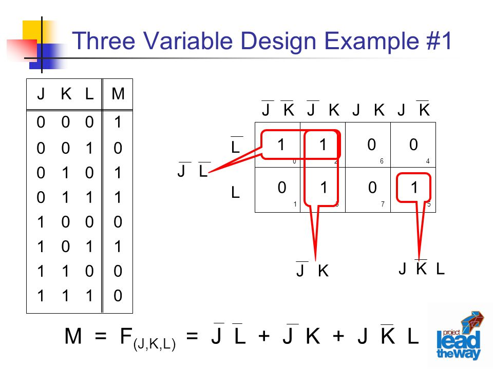Three Variable Design Example #1