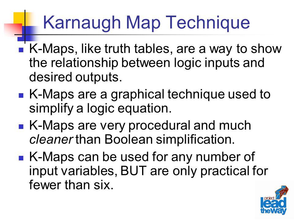 Karnaugh Map Technique