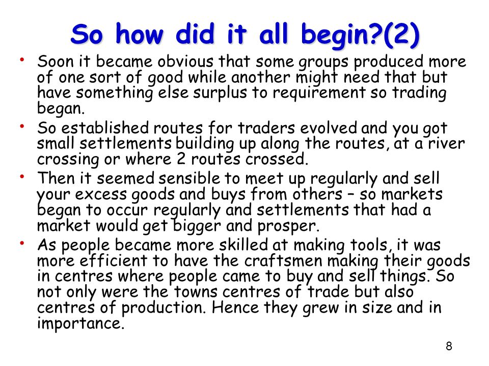 So how did it all begin (2)