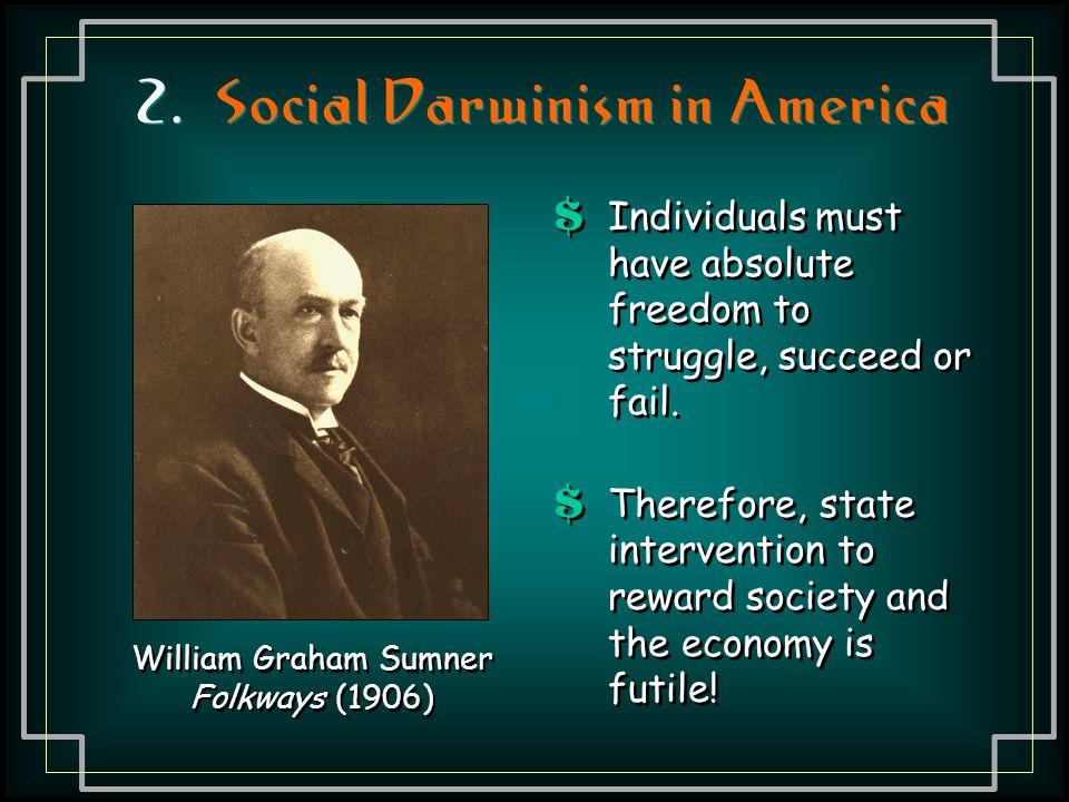 2. Social Darwinism in America