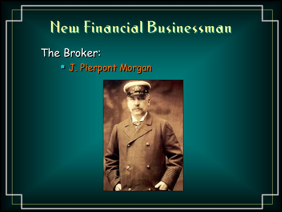 New Financial Businessman