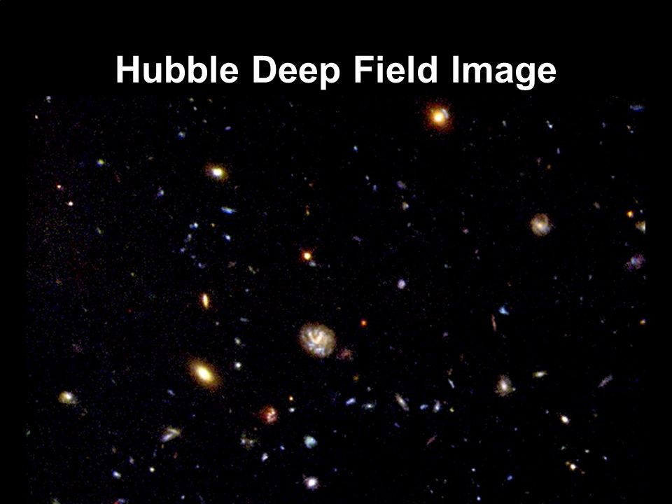 Hubble Deep Field Image